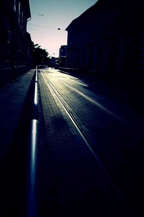 photoblog image dark Lines